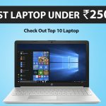Laptop under 25000 in India