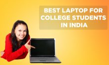 Best Laptop for College Students in India