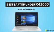 Best Laptop under 45000 in India