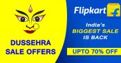 Flipkart Dussehra Sale Offers 2020: Upto 80% off on Mobile, Fashion, Laptop, TV and more