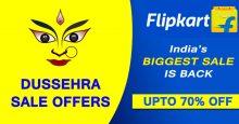 Flipkart Dussehra Sale Offers 2021: Upto 80% off on Mobile, Fashion, Laptop, TV and more