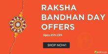Rakshabandhan and Rakhi Offers